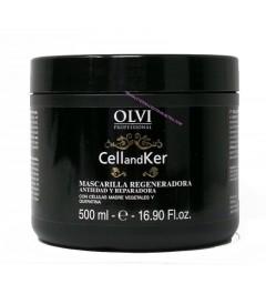 Mascarilla Cellandker con queratina y celulas madres 500ml Olvi