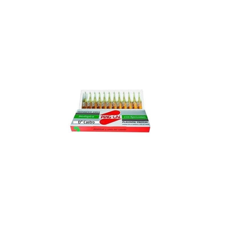 Tratamiento  Anticaida Ping-Lai 12 ampollas