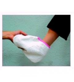 Par de botas toalla rizos parafina
