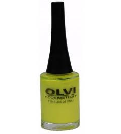 Esmalte Olvi 127  amarillo fluorescente