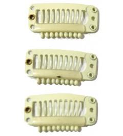 Clip Extensiones rubias 10 unidades