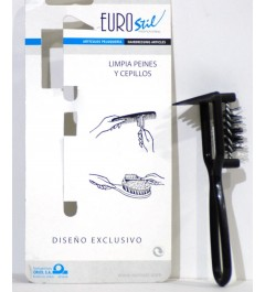 limpia cepillos y peines ref. 600 eurostil