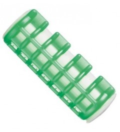 Rulos calientes medianos verde 20 mm Eurostil