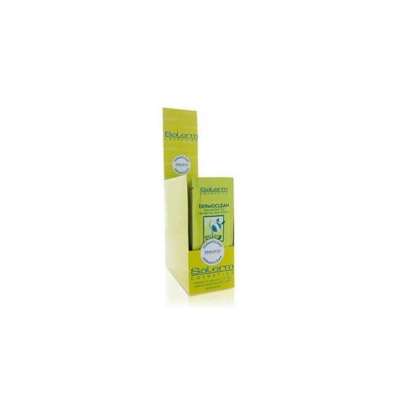 Toallitas limpiadora de tinte Dermocleam 24 unidades Salerm