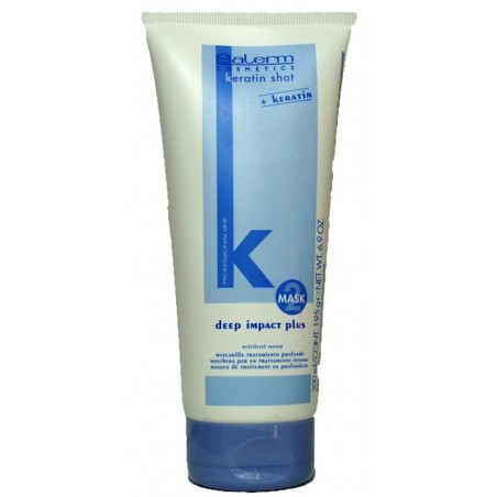 Mascarilla Deep Impact Keratina 200ml Salerm
