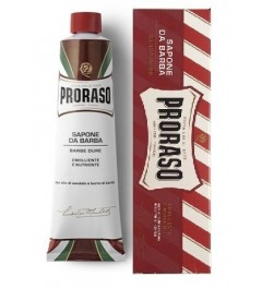 Crema de Afeitar barba Dura Sandalo y Karite 150 ml Proraso