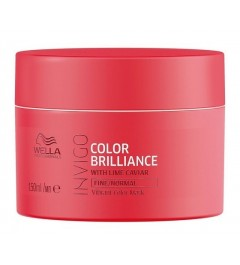Mascarilla Brilliance cabellos coloreados finos y normales Wella