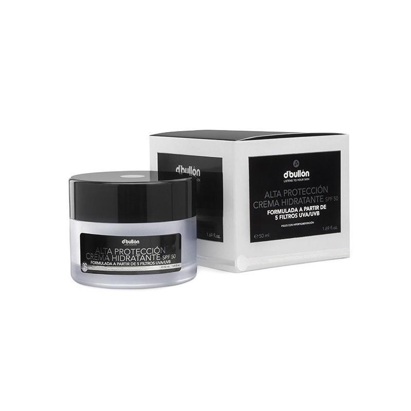 Crema facial Hidratante Alta Proteccion SPF50 50ml D Bullon