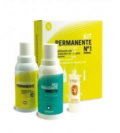 Kit de Permanente 1 Normal 75ml Valquer