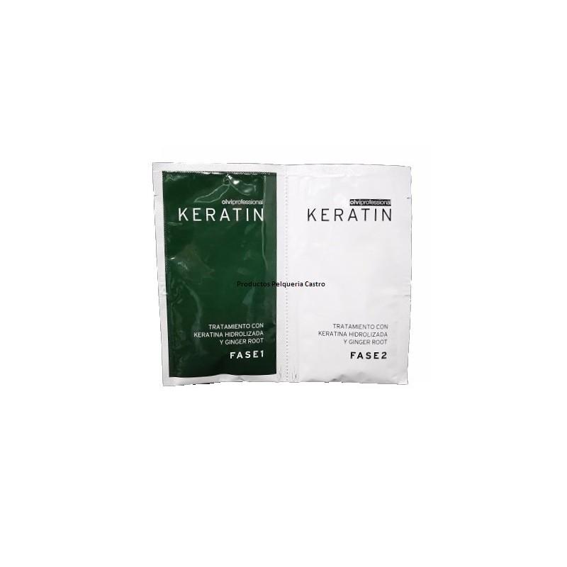 Tratamiento keratina y Ginger 2 fase Olvi