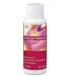 Emulsion Color Tocuh normal 1,9% 6 volumenes Wella 60 ml