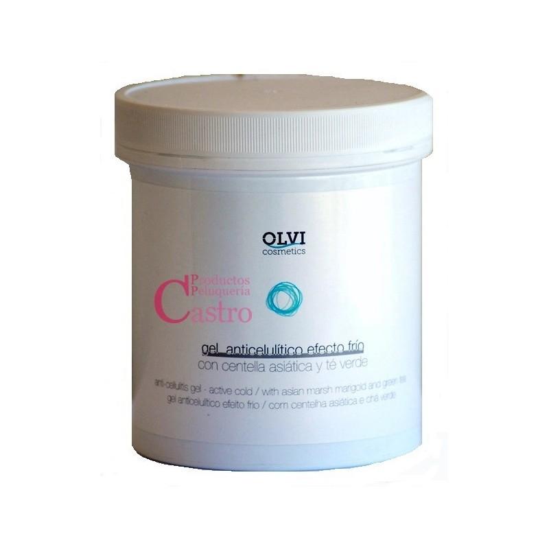 Gel anticelulitico efecto frio 500 ml Olvi