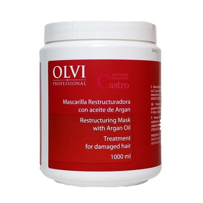 Mascarilla Reestructuradora con Aceite de Argan 1000ml Olvi