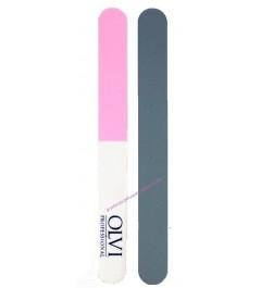 Pulidor de uñas 3 caras rosa-blanco Olvi