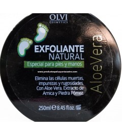 Exfoliante natural para pies y manos 250 ml Olvi